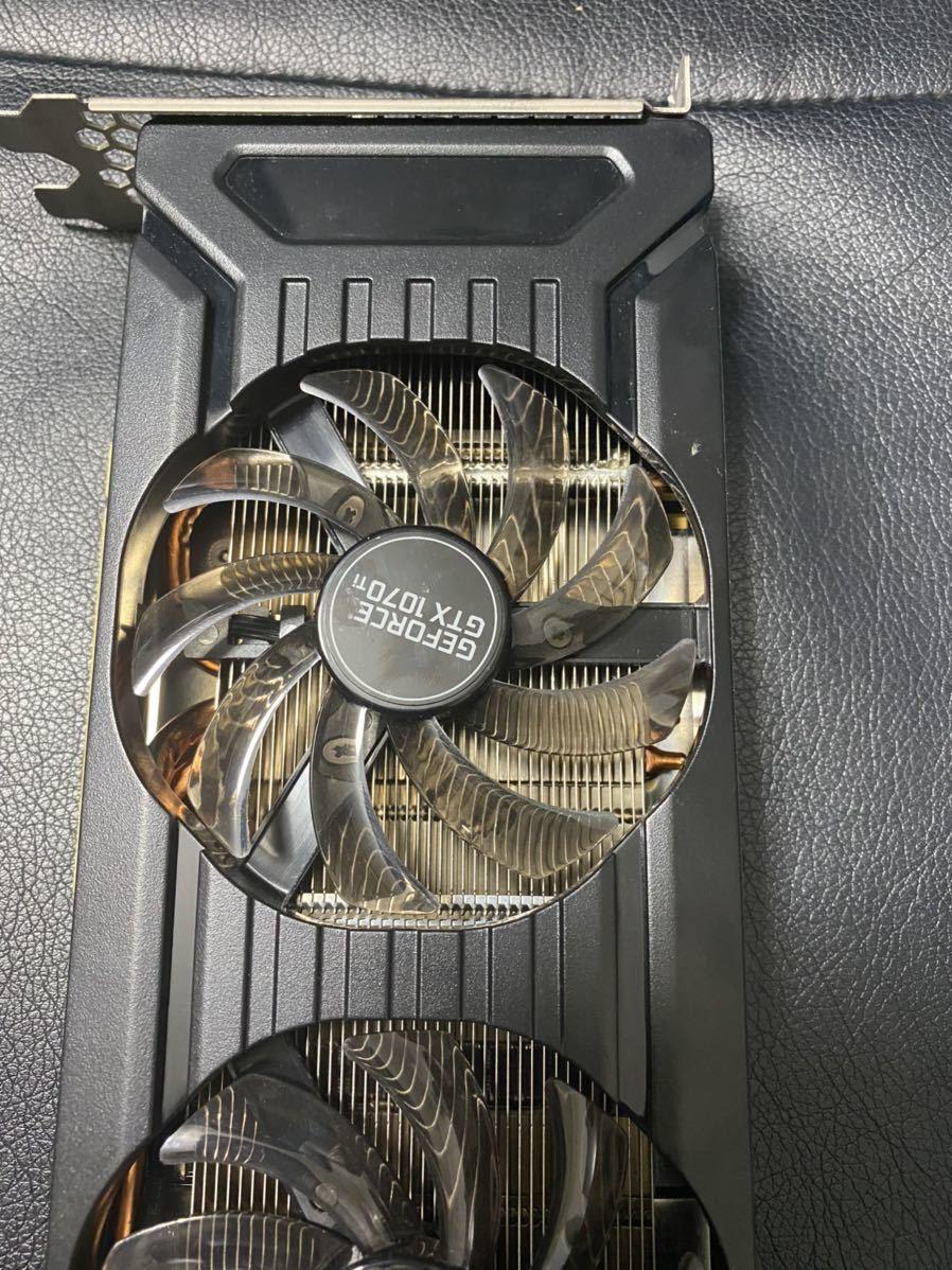 GeForce GTX1070Ti DUAL 8G GDDR5 256bit _画像3