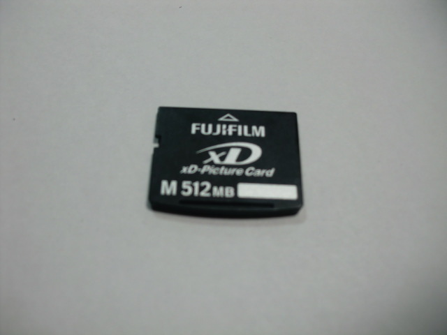 FUJIFILM XD card M 512MB XD Picture card format ending postage 63 jpy