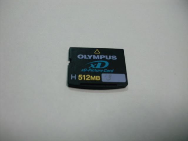 OLYMPUS XD card H 512MB XD Picture card format ending postage 63 jpy