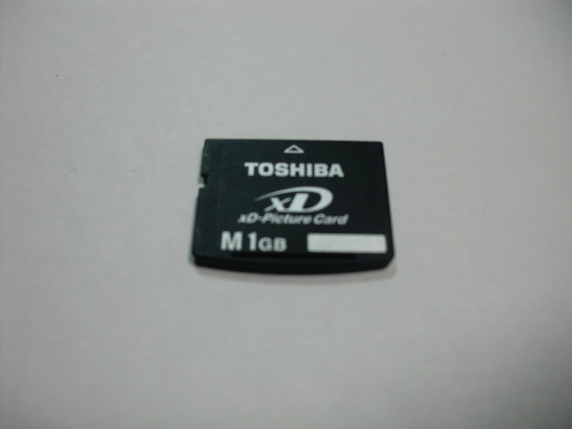 TOSHIBA XD card M 1GB XD Picture card format ending postage 63 jpy