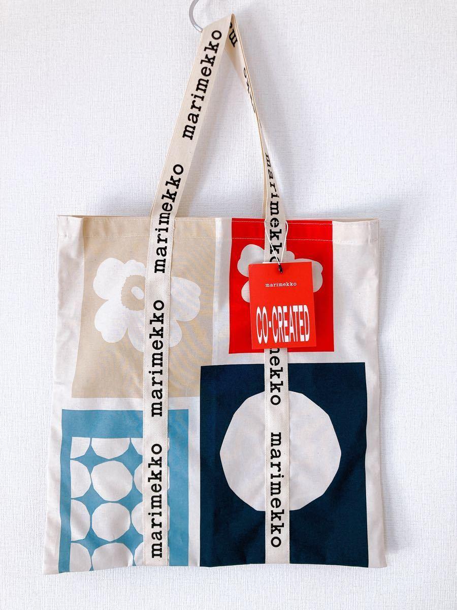 マリメッコ marimekko 70周年 限定 トートバッグ