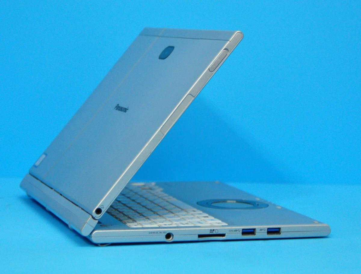 ★ 上位モデル 使用時間1650H ★ タッチパネル Panasonic CF-XZ6 Core i5 7300U/ メモリ8GB/ SSD 256GB/ 顔認証カメラ/ Office2019/ Win10_画像7
