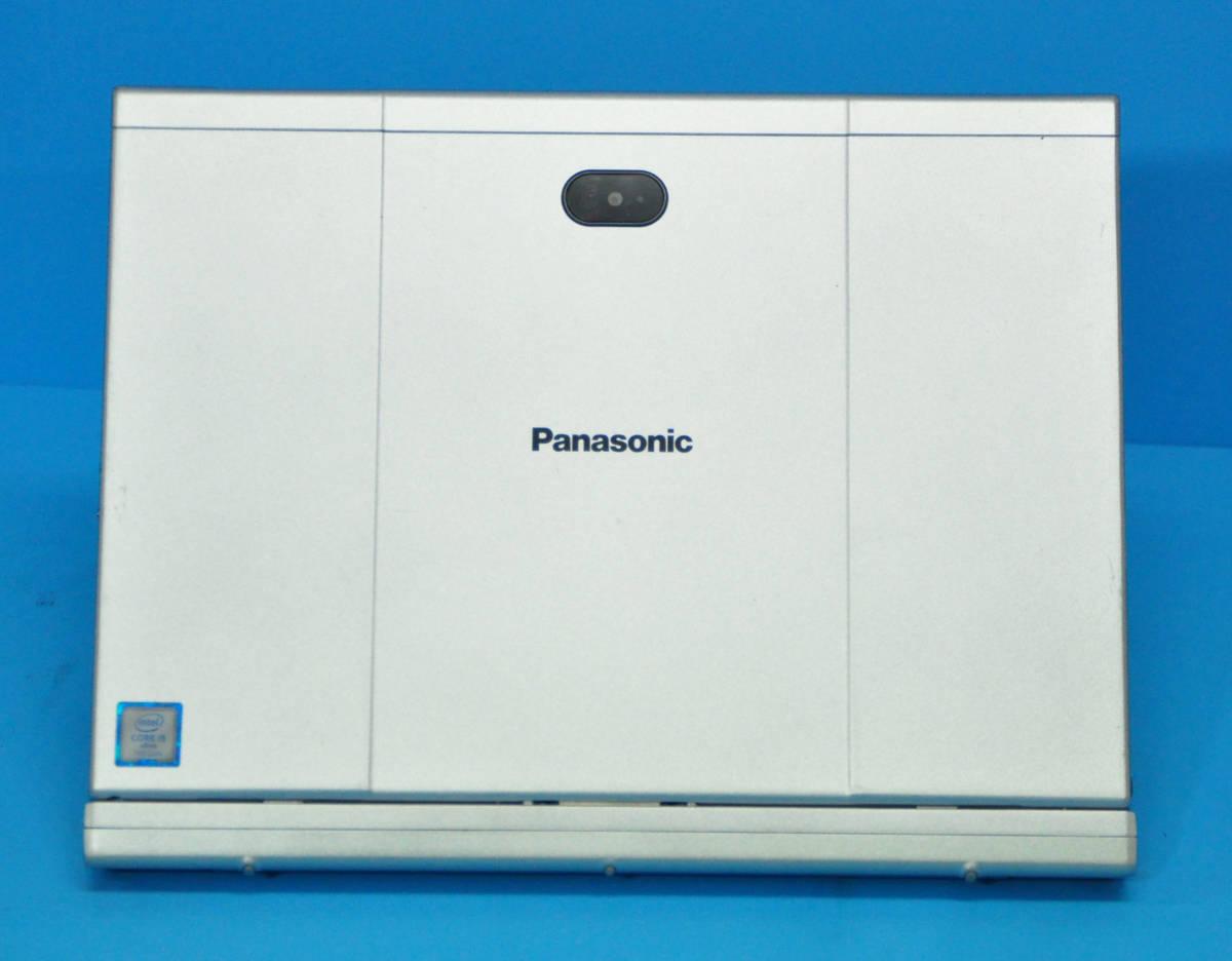 ★ 上位モデル 使用時間1650H ★ タッチパネル Panasonic CF-XZ6 Core i5 7300U/ メモリ8GB/ SSD 256GB/ 顔認証カメラ/ Office2019/ Win10_画像4