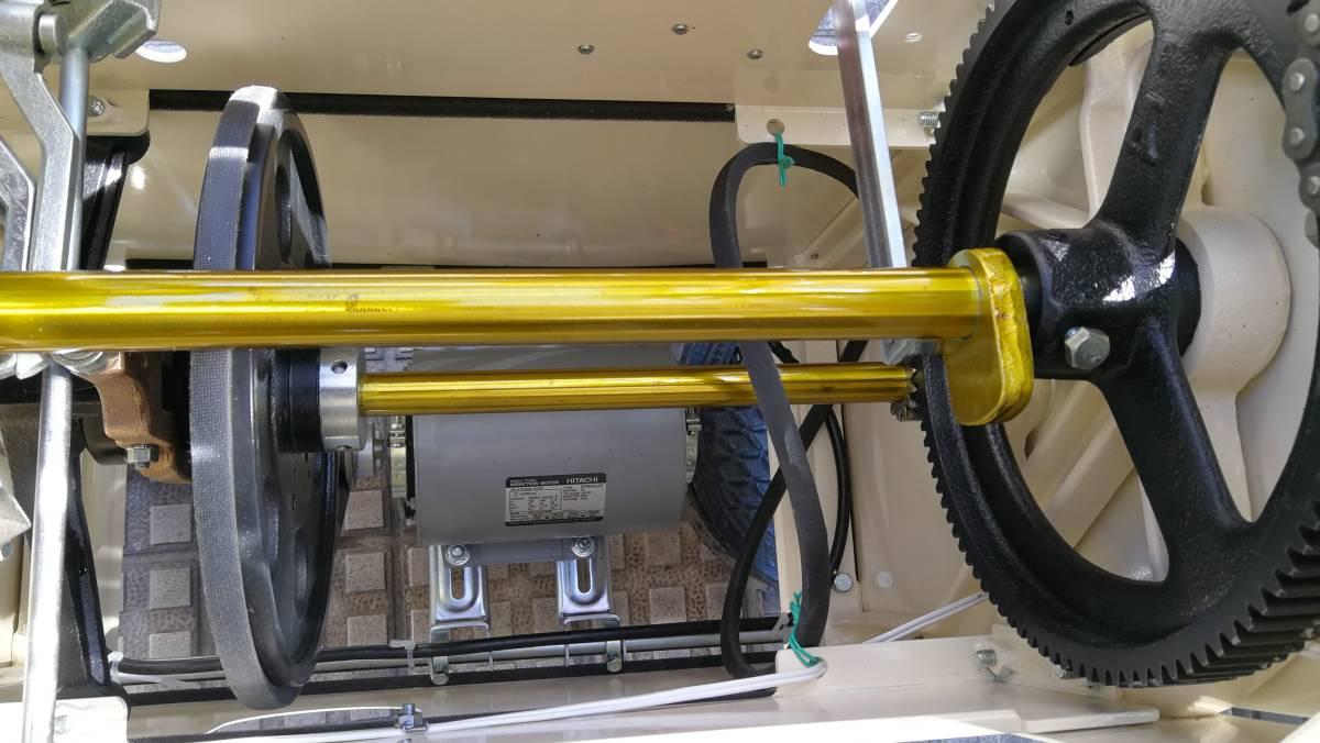 TOM結束機 中古Y45型_クラッチ板 モーター新品に交換