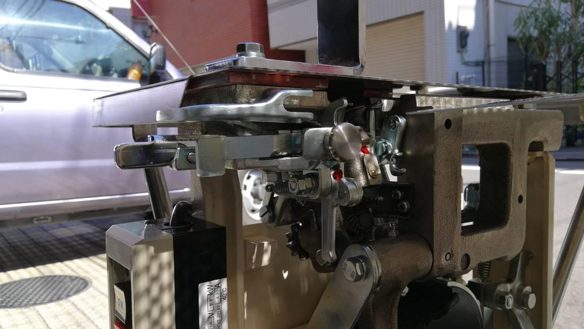 TOM結束機 中古Y45型_クチバシ ボタン スイッチコード交換済み