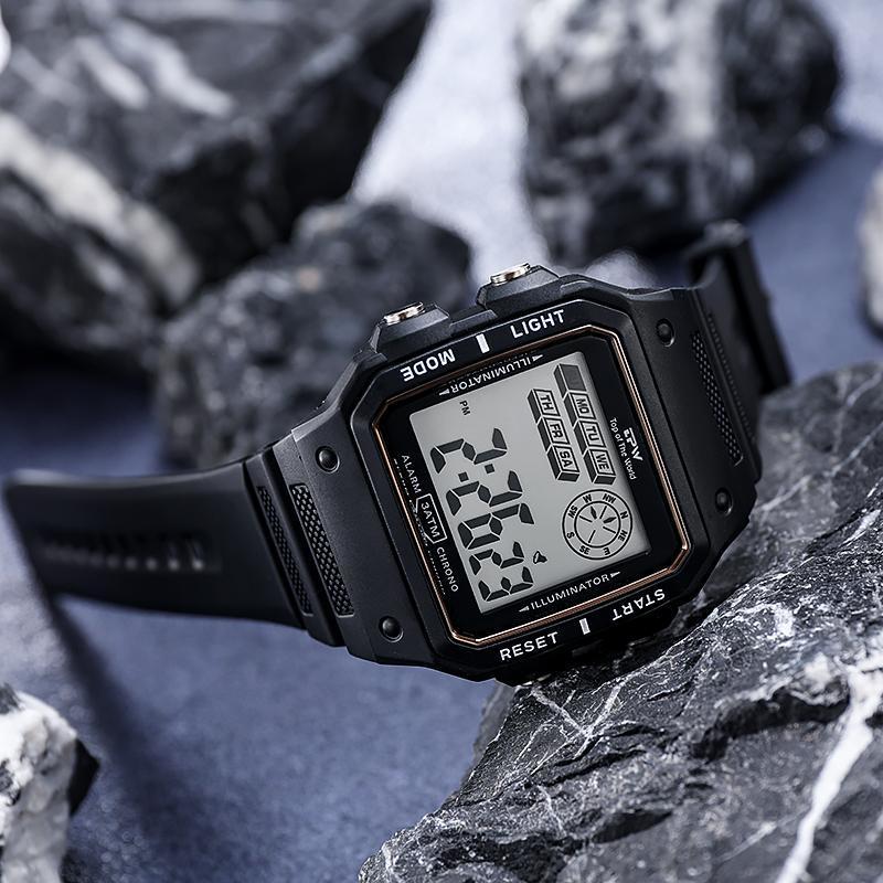 ★★メンズ腕時計 多機能スポーツ腕時計 ファッション腕時計 デジタル腕時計 089_画像3