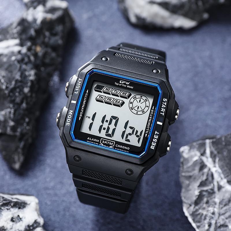 ★★メンズ腕時計 多機能スポーツ腕時計 ファッション腕時計 デジタル腕時計 089_画像6