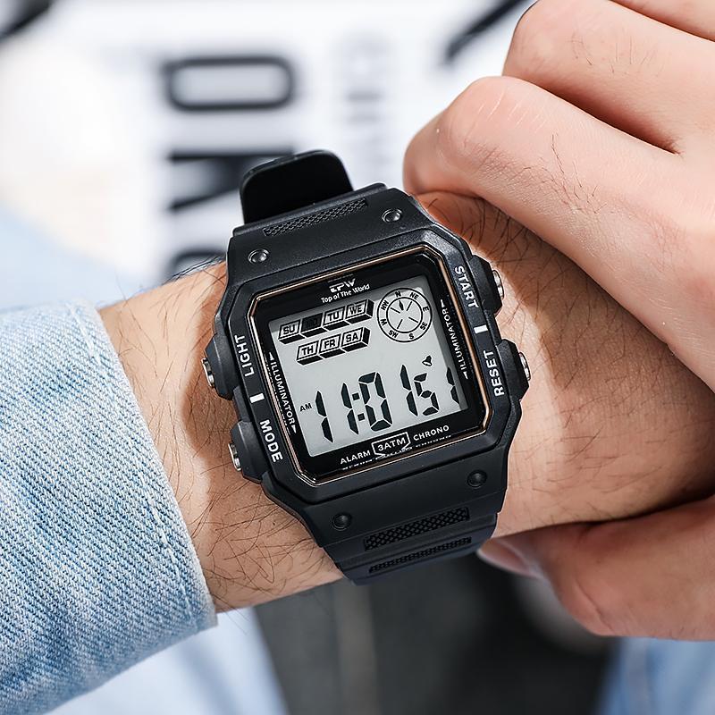 ★★メンズ腕時計 多機能スポーツ腕時計 ファッション腕時計 デジタル腕時計 089_画像4