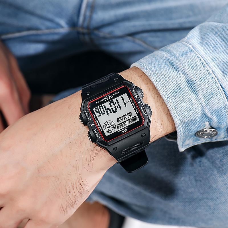 ★★メンズ腕時計 多機能スポーツ腕時計 ファッション腕時計 デジタル腕時計 089_画像5