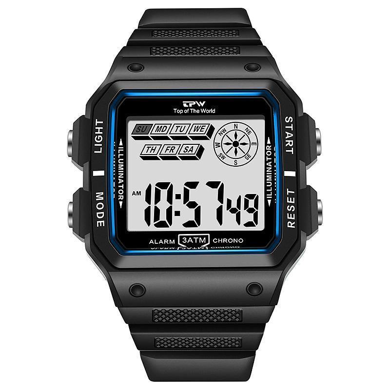 ★★メンズ腕時計 多機能スポーツ腕時計 ファッション腕時計 デジタル腕時計 089_画像1