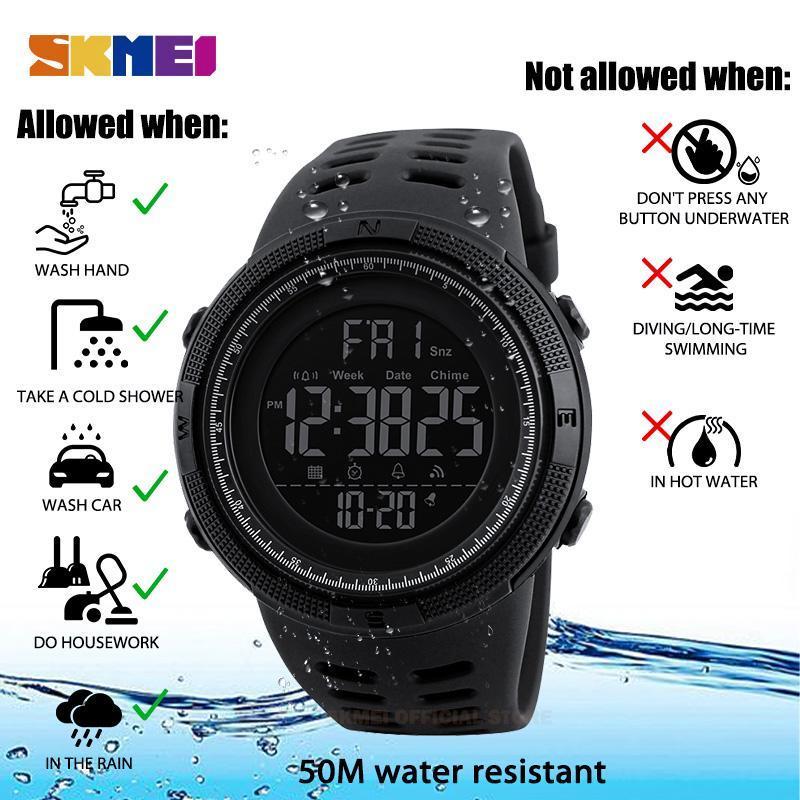 ★★メンズ腕時計 ファッション スポーツ腕時計 多機能防水デジタル腕時計 214_画像4