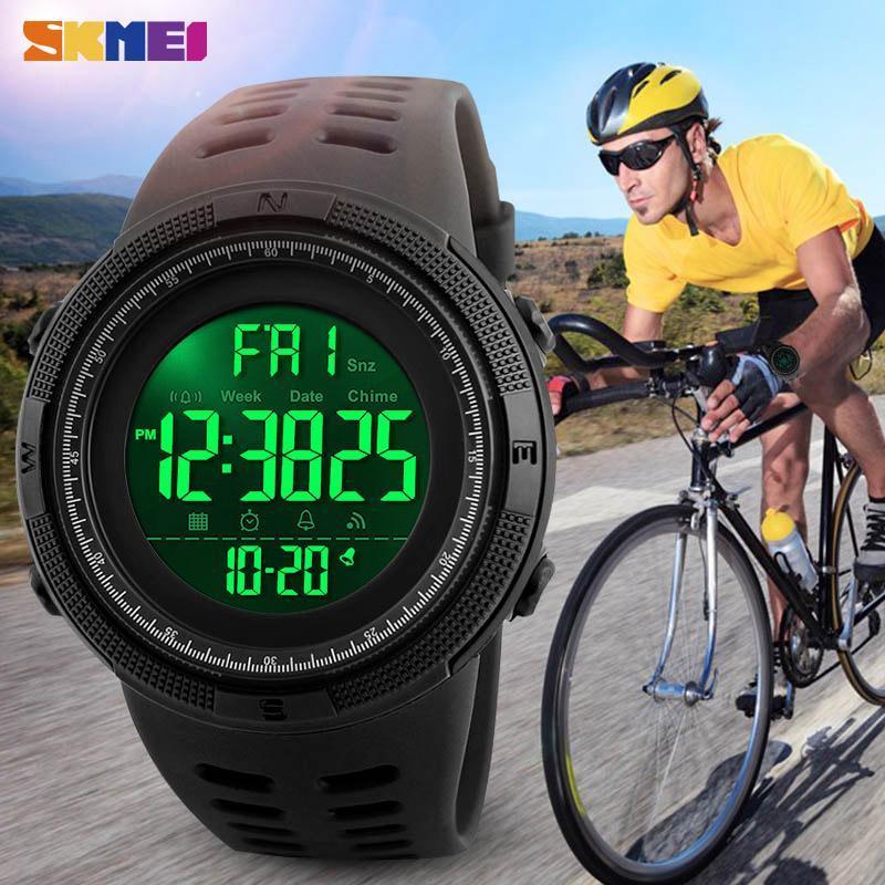 ★★メンズ腕時計 ファッション スポーツ腕時計 多機能防水デジタル腕時計 214_画像6