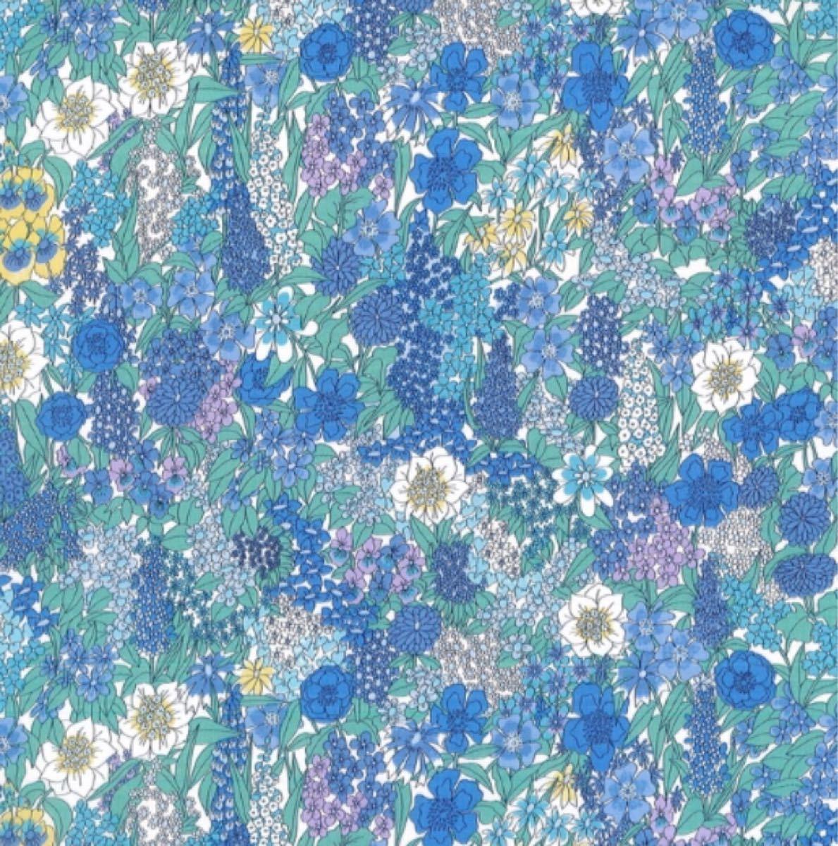 リバティ シアラ ブルー 生地幅×200cm 国産タナローン LIBERTY