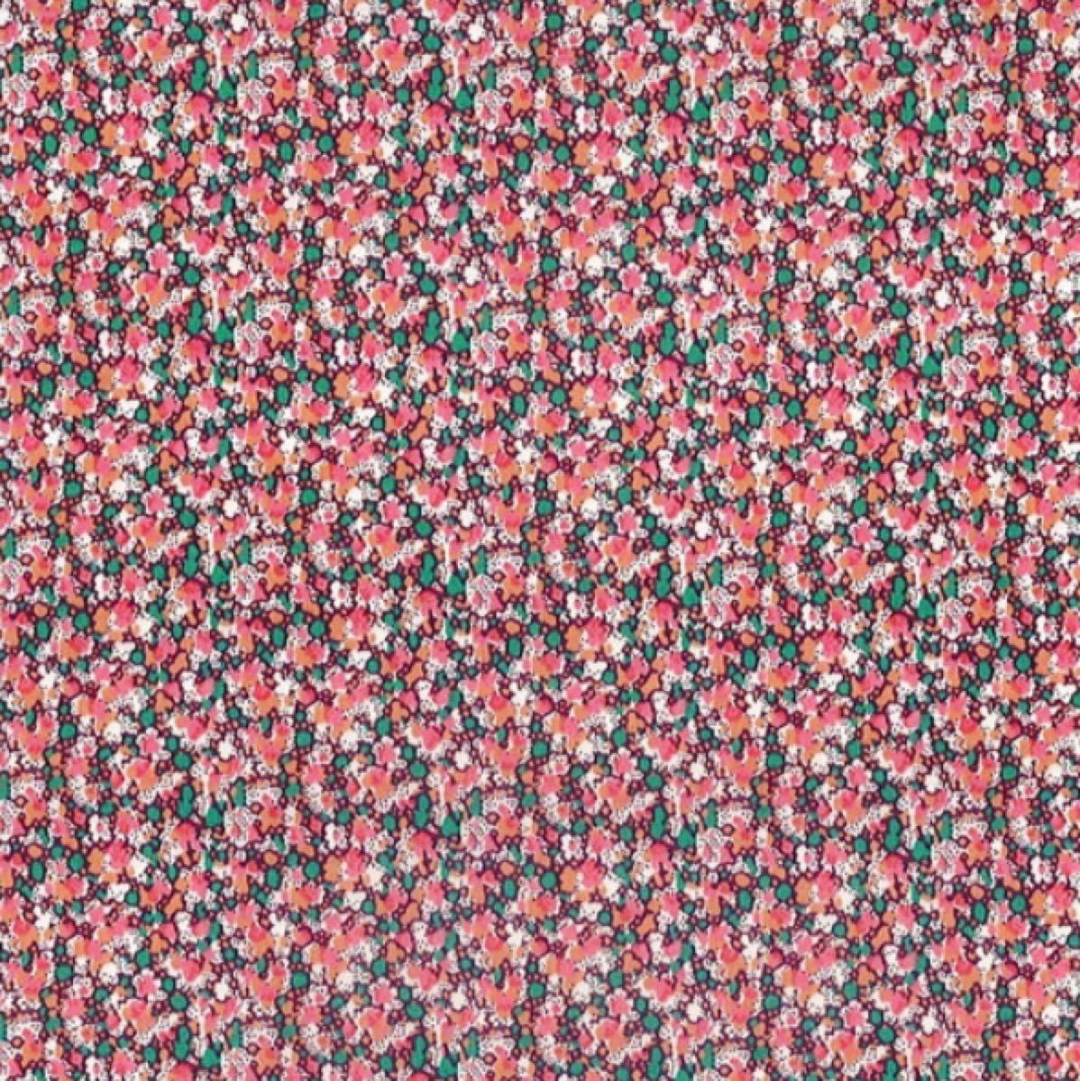 リバティ ペッパー ピンク 生地幅×200cm 国産タナローン はぎれ カットクロス