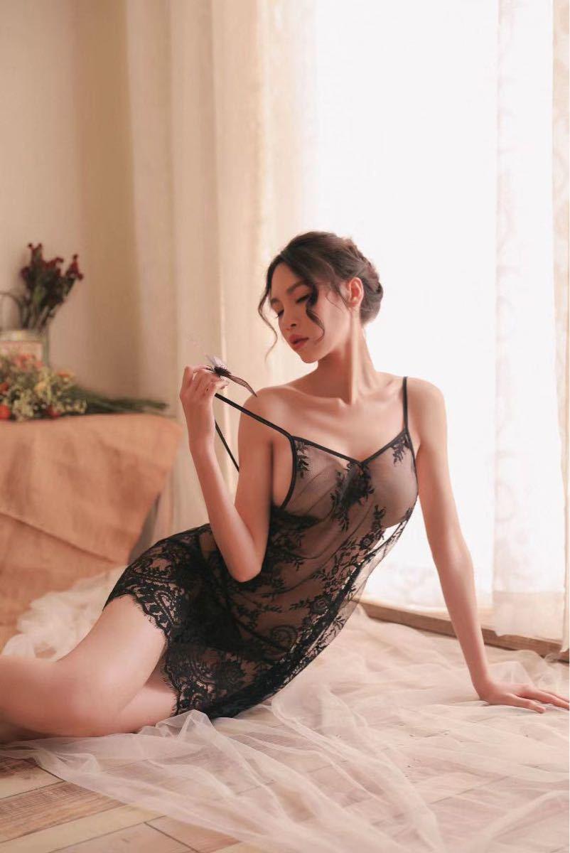 セクシーランジェリー スケスケ ナイトウエア コスプレ衣装