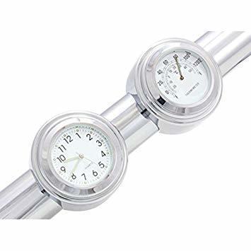 RANZEK 温度計 時計 バイクハンドル用 2個 防水 軽4FK8376_画像4