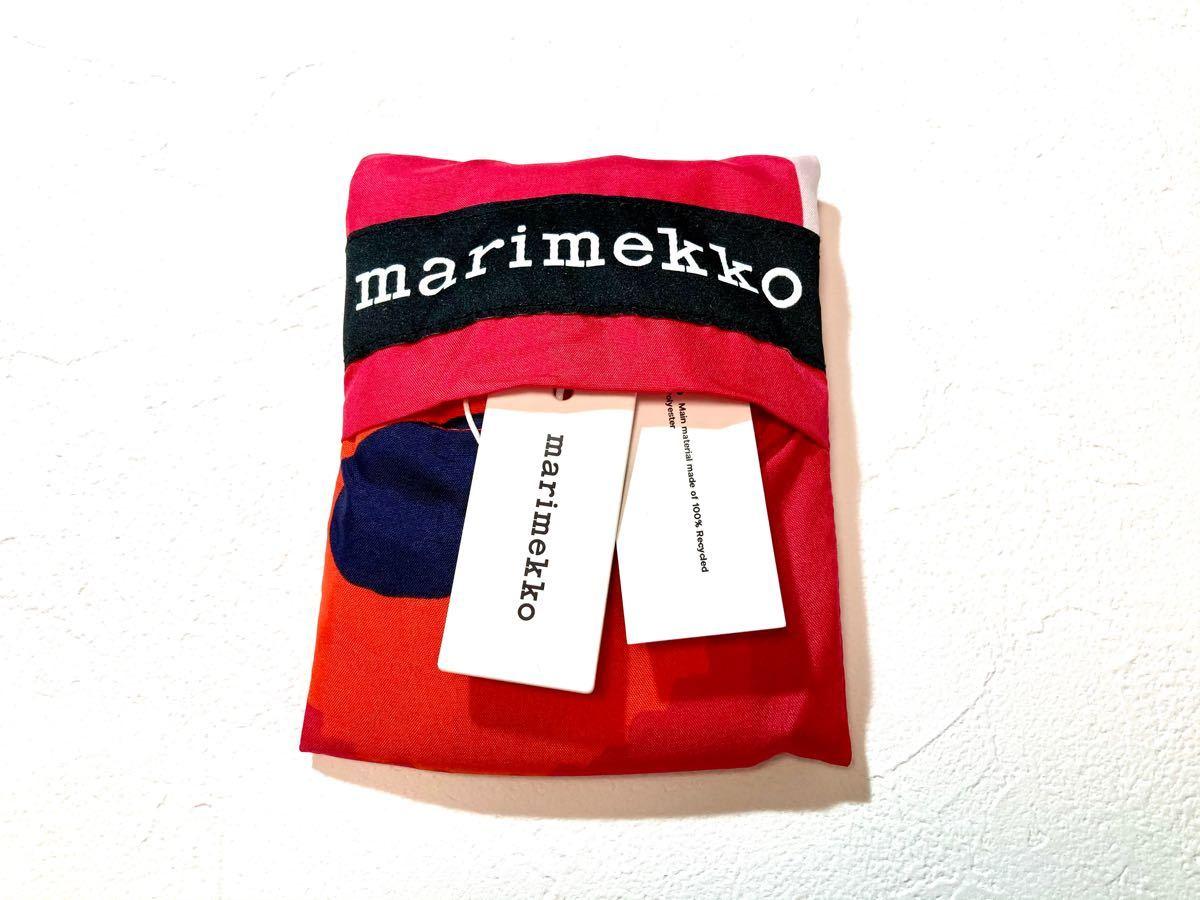 マリメッコ エコバッグ ウニッコ レッド