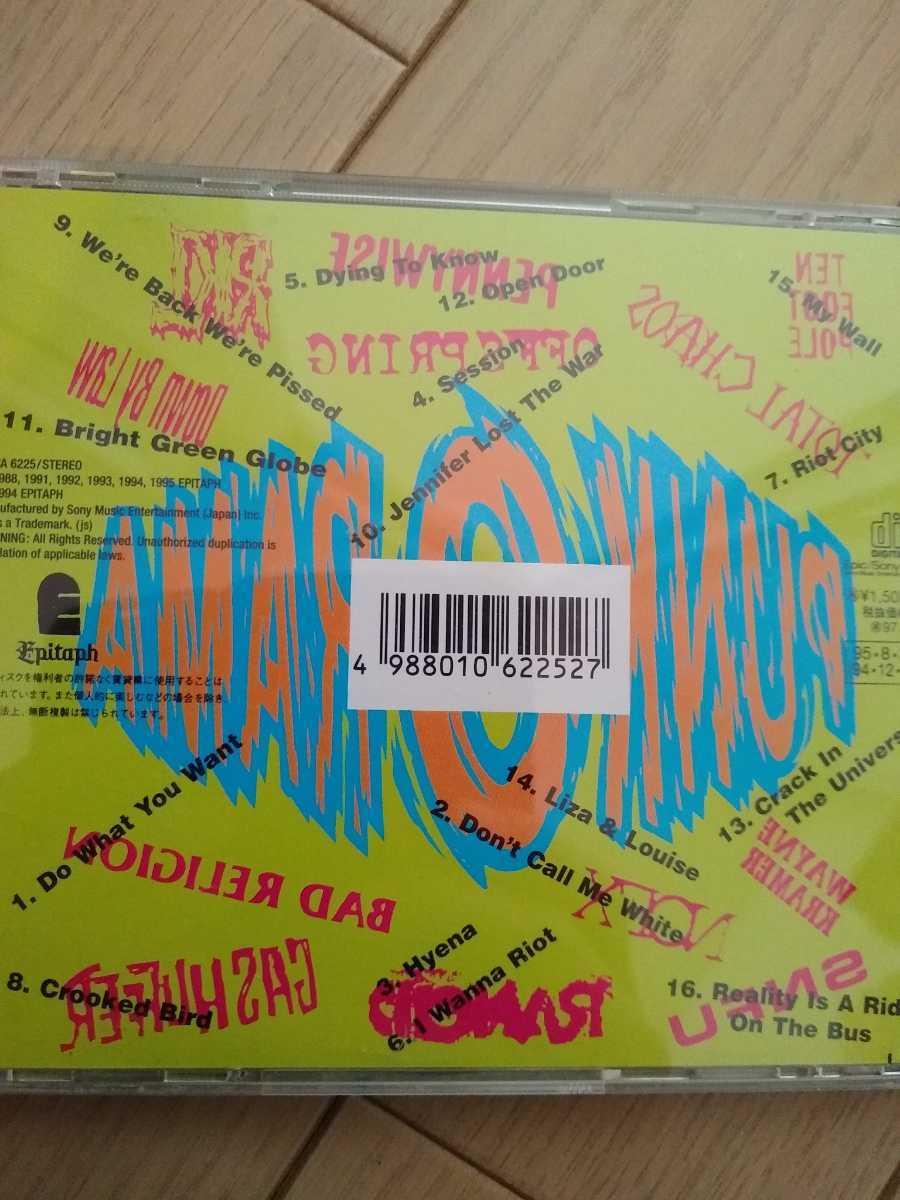 Punk-O-Rama パンク メロコア CD NOFX Offspring Bad Religion Pennywise 等 送料無料