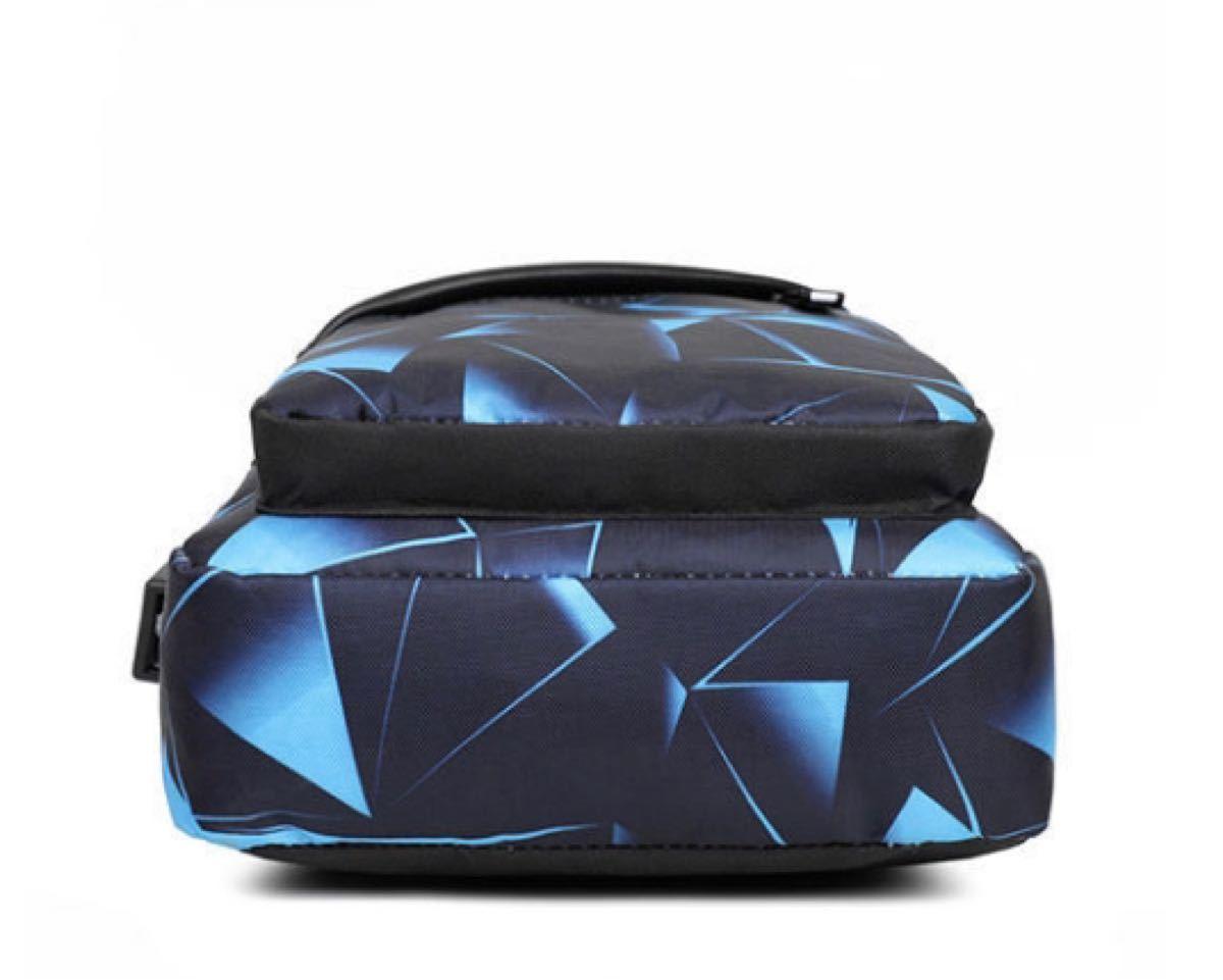 ブルーメンズ ボディバッグ ワンショルダーバッグ シンプル バッグ 斜めがけ 縦型