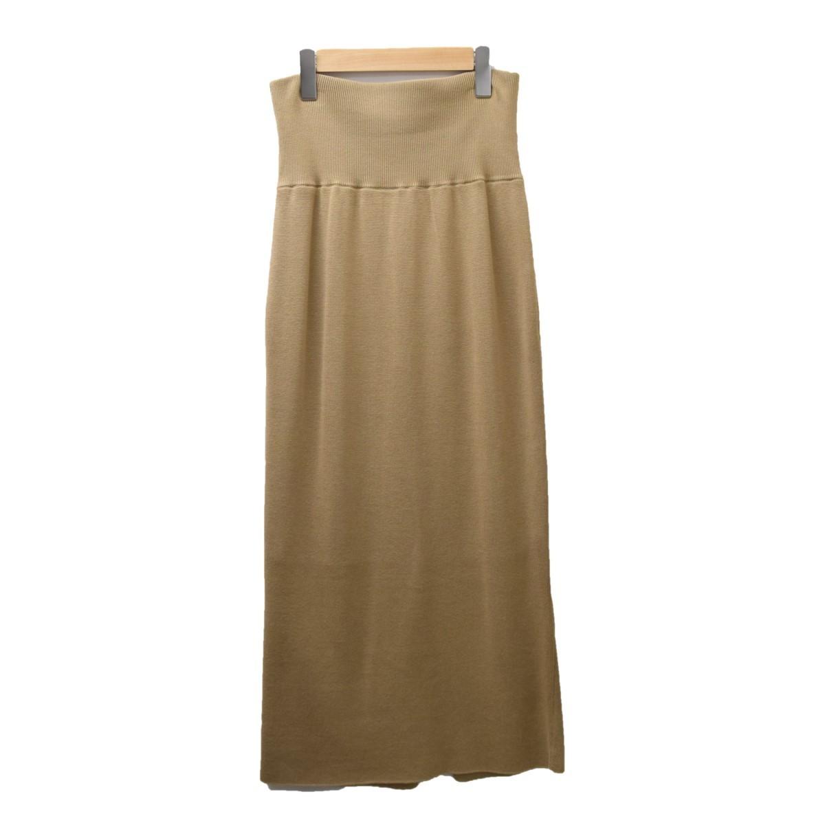 エブリデイアイライク Everyday I Like  ハーフミラノニットスカート 商品番号:8068000055668_画像1