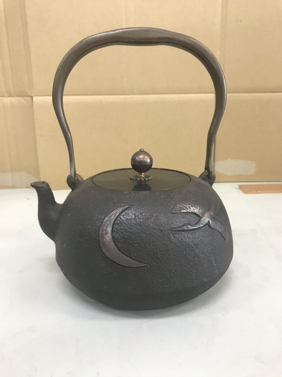 金寿堂 雨宮 金寿堂 龍文堂銅蓋 銀象嵌