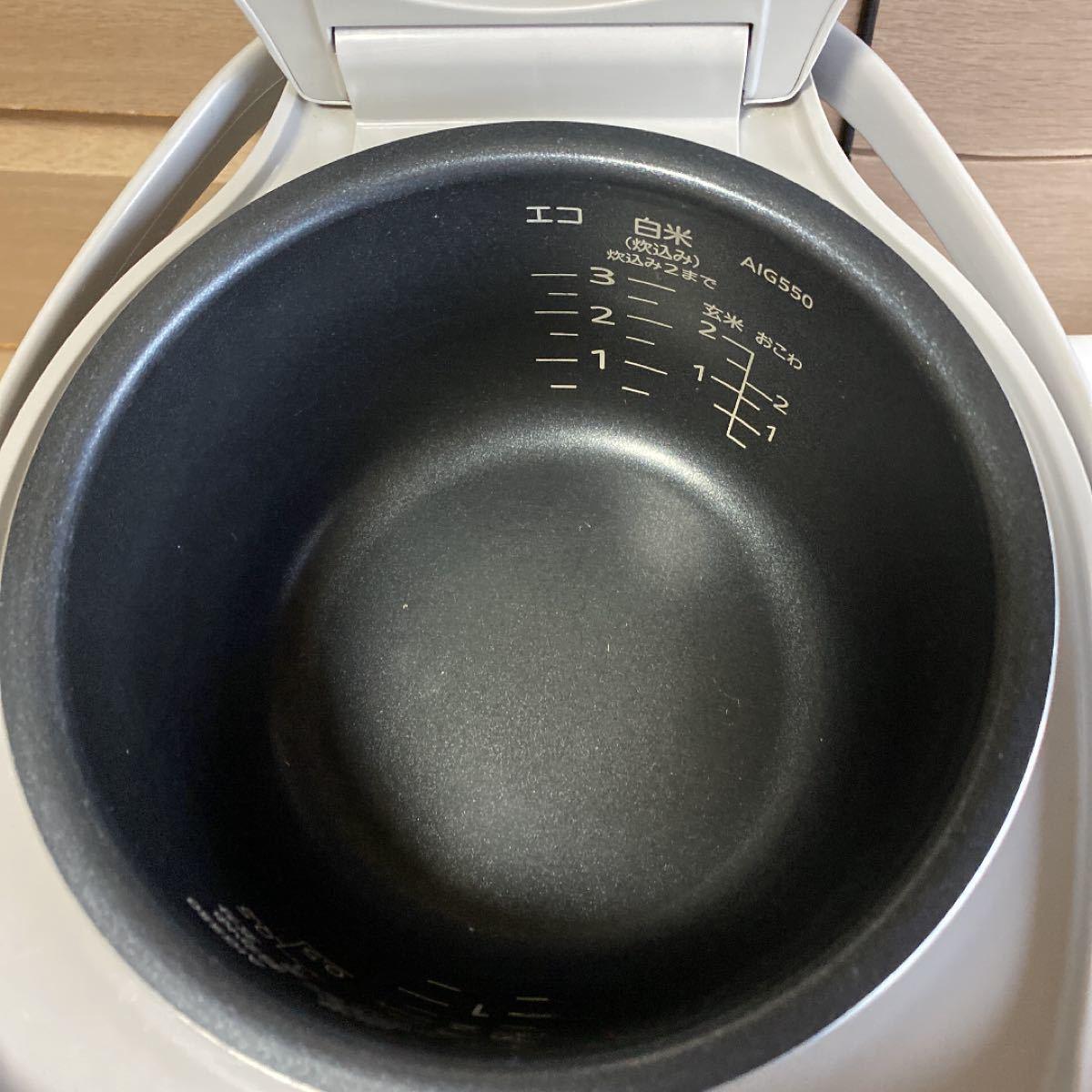 タイガーマイコン炊飯ジャー12年製 3合