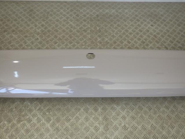 美品 B40 B50 トヨタ コースター 日野 リエッセ2 マイクロバス リアバンパー 鉄製 ベージュ 塗装 即決_画像3