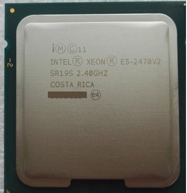 Intel xeon E5-2470v2■ 正規完動品@送料無料■_画像1