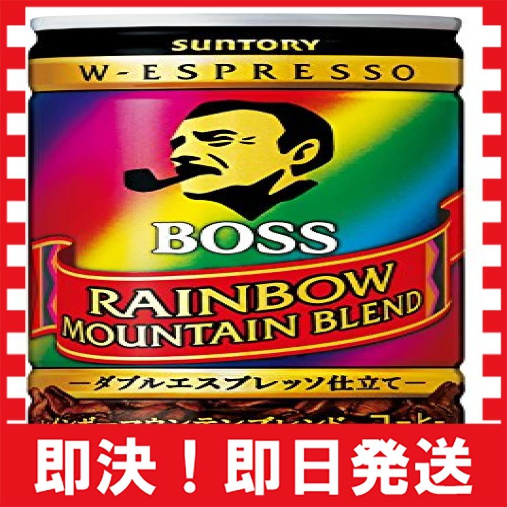 【新品×最安!】サントリー コーヒー ボス レインボーマウンテンブレンド 185g×30本_画像1