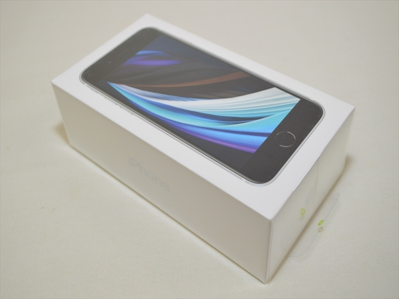 新品未開封 SIMフリー iPhoneSE 第2世代 64GB ホワイト MX9T2J/A 【Appleサポートあり】 20697_画像1