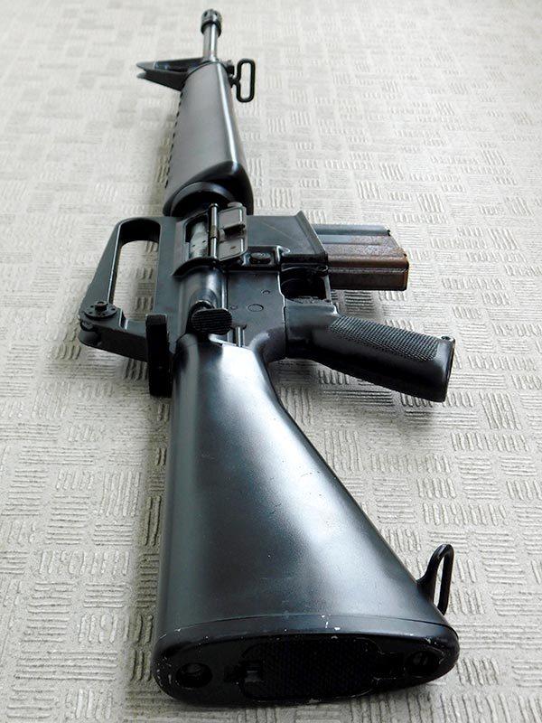 マルシン・M16A1・金属製モデルガン・ジャンク・処分品/米軍,ベトナム戦争,ナム戦,飾り,インテリア,オブジェ,部品取り,パーツ取り_画像8