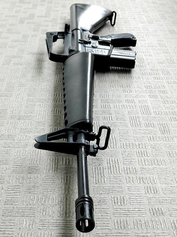マルシン・M16A1・金属製モデルガン・ジャンク・処分品/米軍,ベトナム戦争,ナム戦,飾り,インテリア,オブジェ,部品取り,パーツ取り_画像7