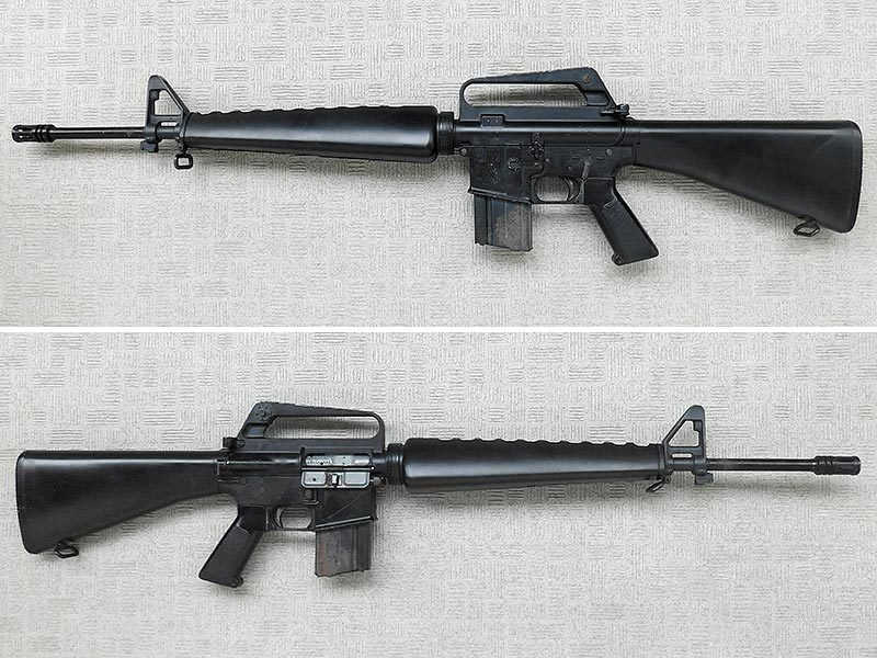 マルシン・M16A1・金属製モデルガン・ジャンク・処分品/米軍,ベトナム戦争,ナム戦,飾り,インテリア,オブジェ,部品取り,パーツ取り_画像1