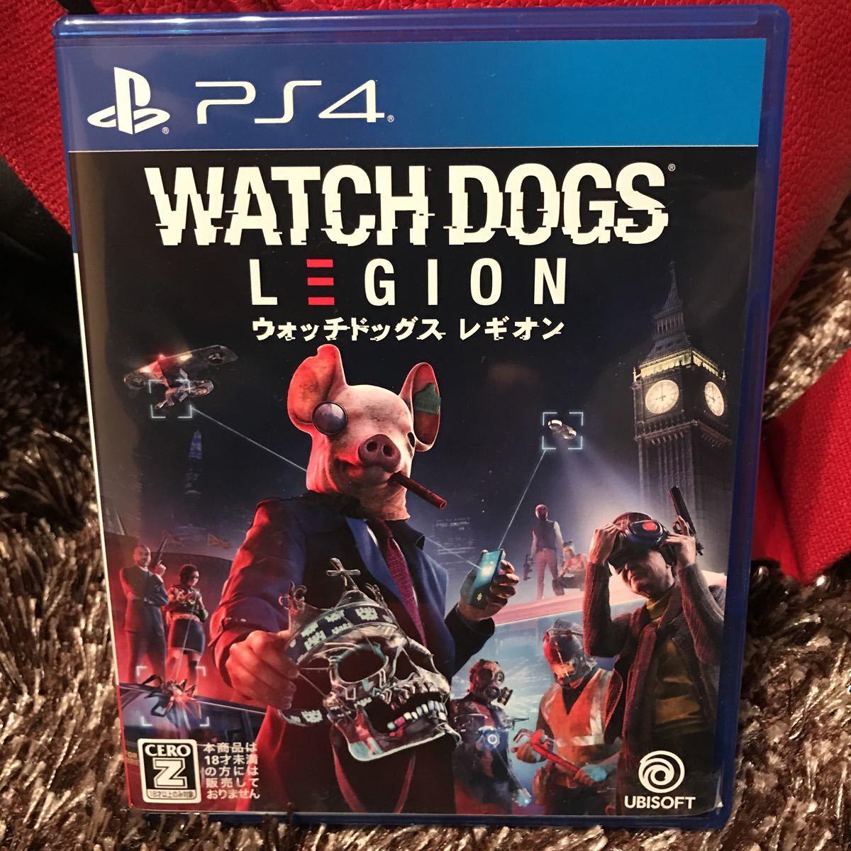 PS4 ウォッチドッグス レギオン 初回特典コード2種未使用付き
