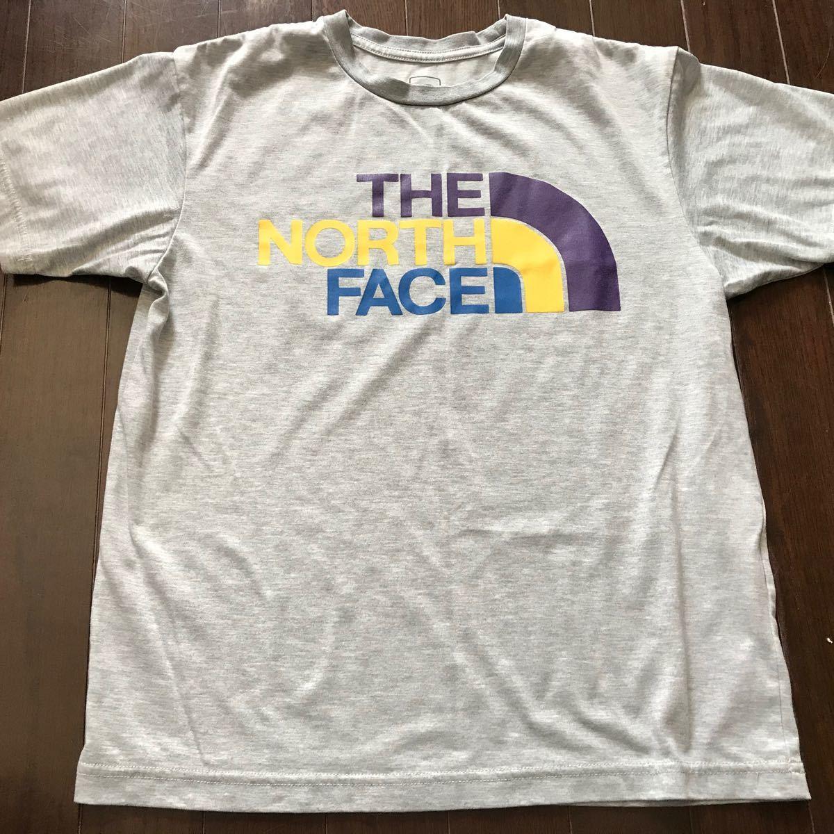 THE NORTH FACE ザノースフェイス 半袖TシャツSグレー美品