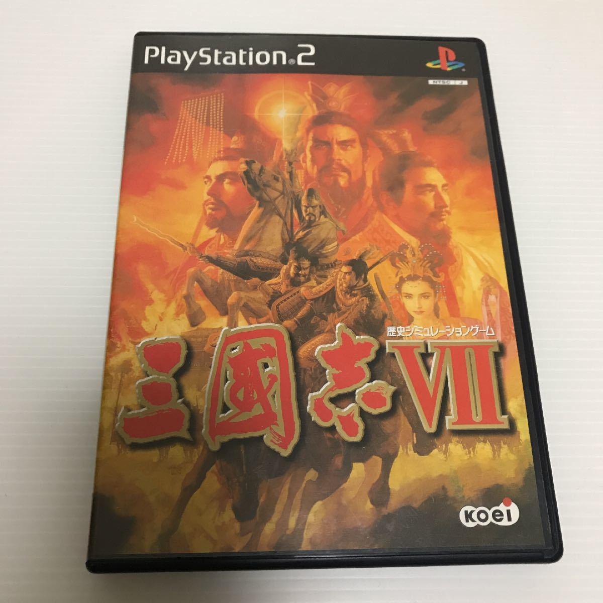 PlayStation2 ソフト 三國志7