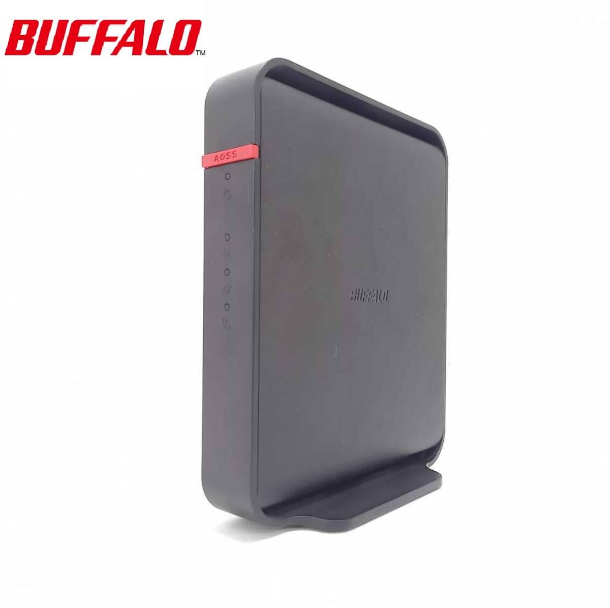 ☆美品☆ BUFFALO / バッファロー 無線LANルーターWHR-300HP2 初期化済 LANケーブル2m付き