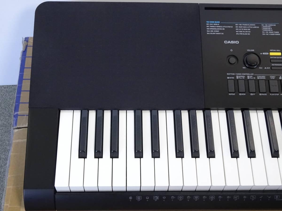中古 CASIO デジタルキーボード WK-245 76鍵盤 2016年製 本体のみ 電子ピアノ カシオ_画像2