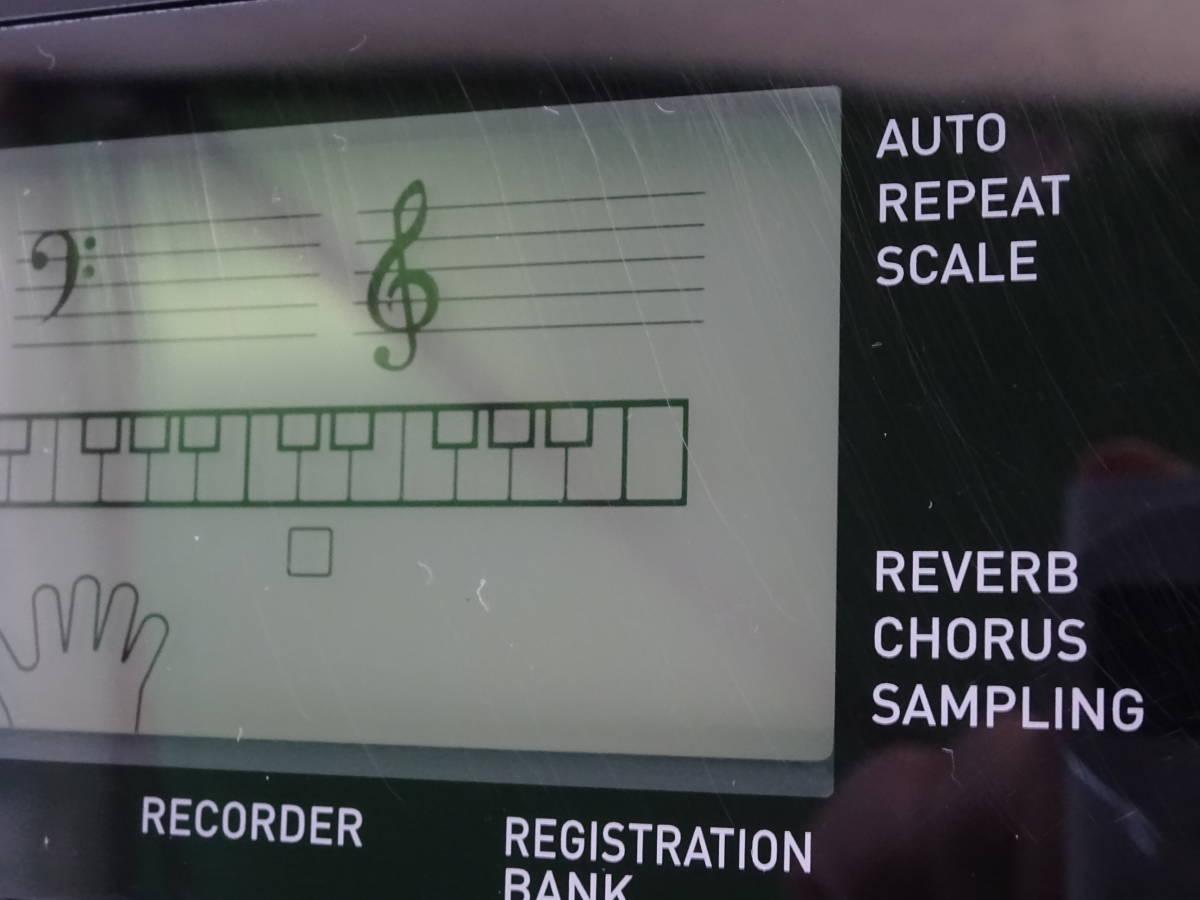 中古 CASIO デジタルキーボード WK-245 76鍵盤 2016年製 本体のみ 電子ピアノ カシオ_画像6