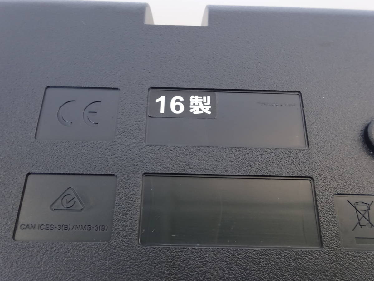 中古 CASIO デジタルキーボード WK-245 76鍵盤 2016年製 本体のみ 電子ピアノ カシオ_画像10