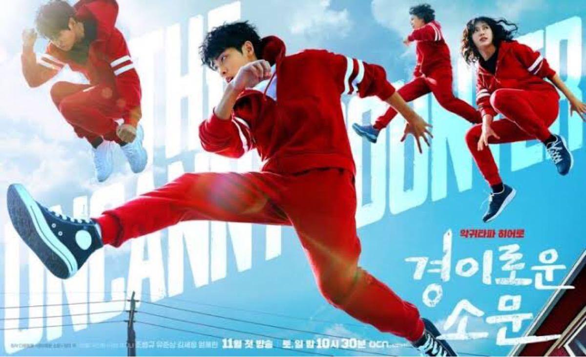 韓国ドラマ 悪霊狩団カウンターズ DVD『レーベル印刷有り』