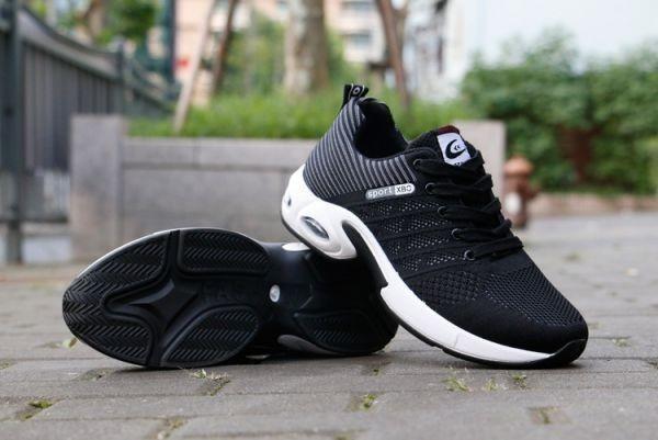 メンズ スニーカー ランニングシューズ フィットネス ウォーキング 通気性 スポーツ カジュアル 靴 メッシュ 【26.5cm】【グレー】 ②_画像2