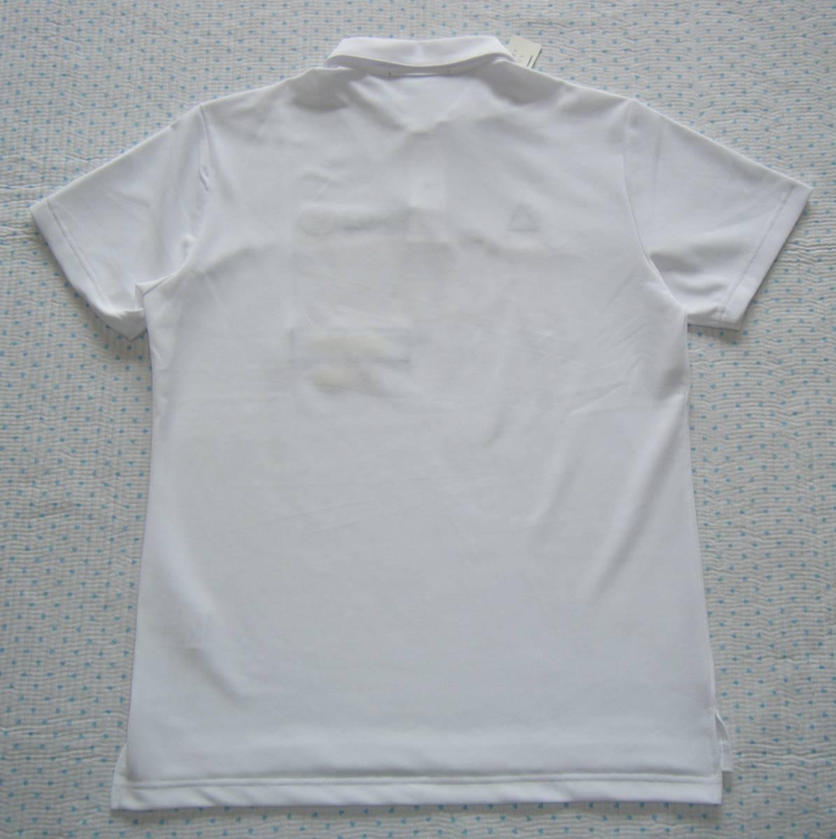 ルコック lecoq FRANCE 82 ゴルフ用高機能/冷感ポロシャツ 白色 サイズ L 吸汗速乾/ストレッチ/UV機能 定価 9,350円_画像4