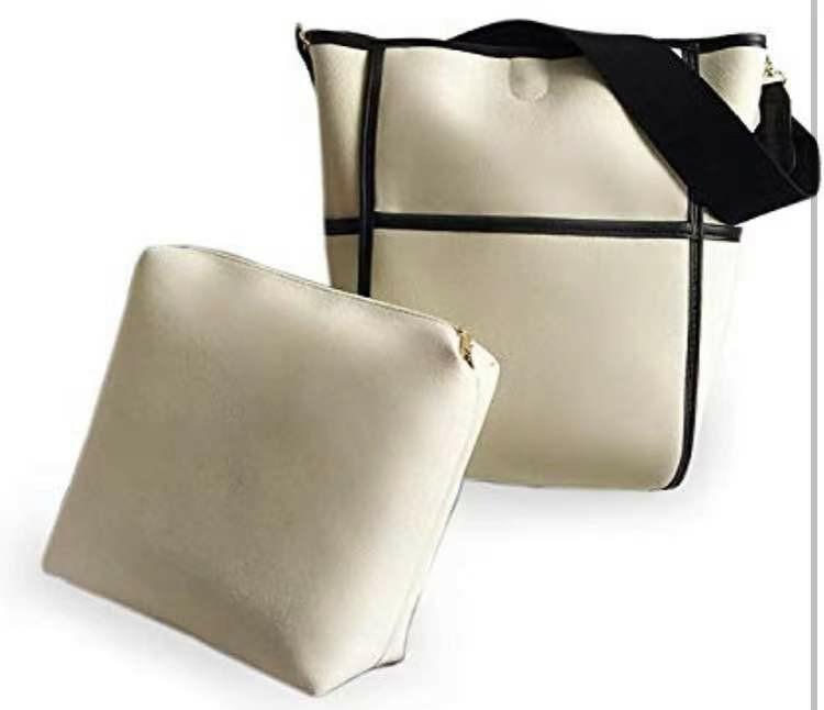 レディース ショルダーバッグ 斜めがけバッグ 2WAY キャンパス バッグインバッグ2点セット A4 通勤バッグ 人気バッグ