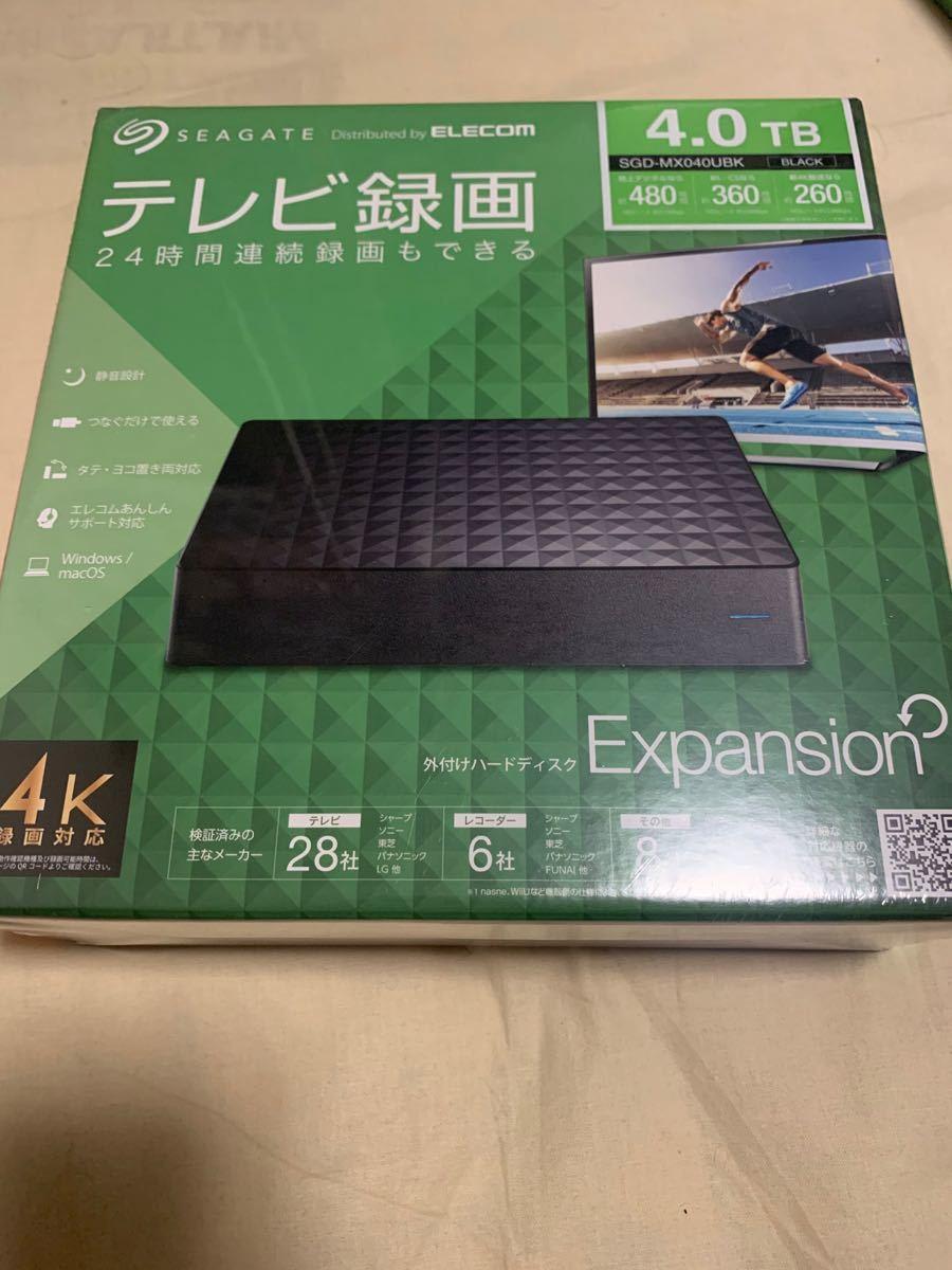 Seagate SGD-MX040UBK 4TB 外付けハードディスク