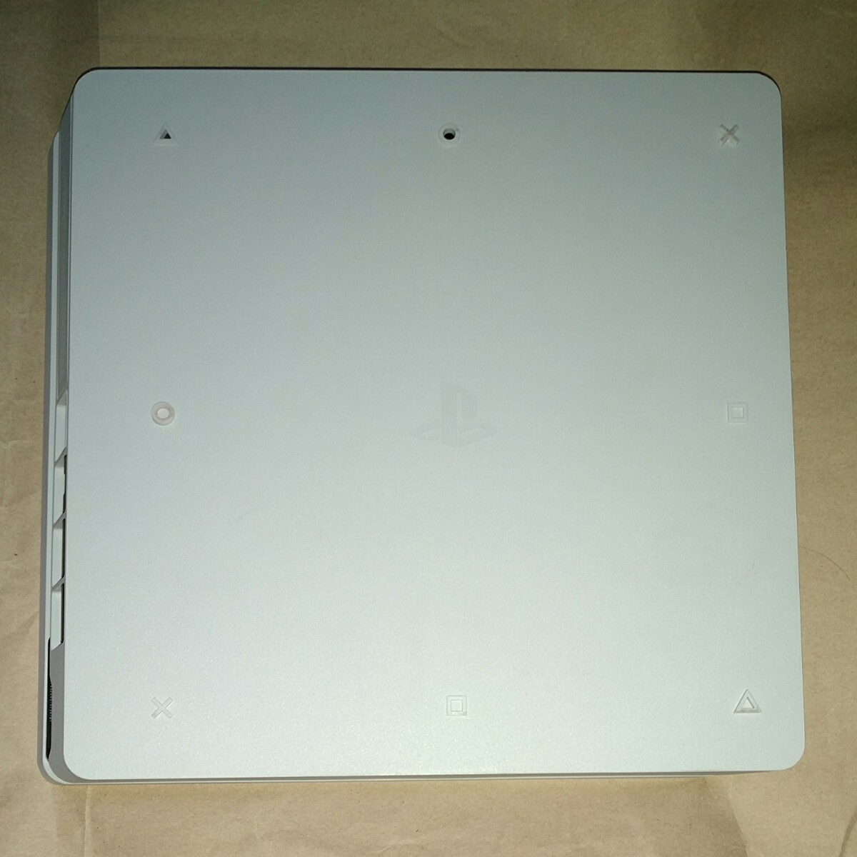 PS4 動作確認済み 本体 スリム 薄型 ホワイト 白