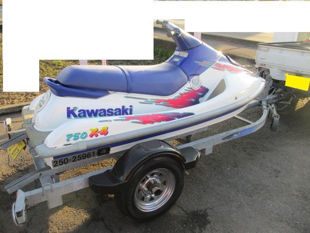 KAWASAKI 船検満タン 750 x4 xi 2乗り_画像1
