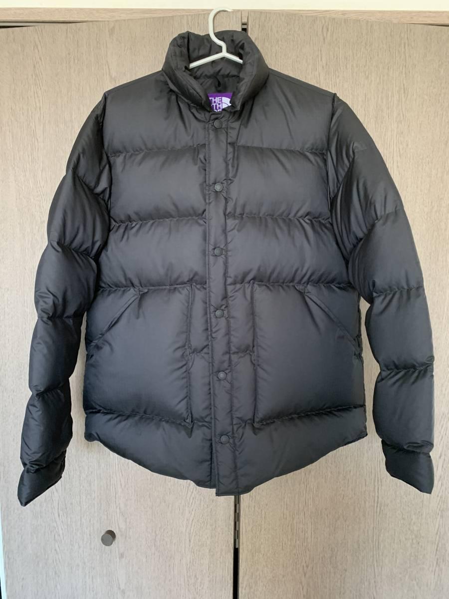 RHC ロンハーマン別注 THE NORTH FACE PURPLE LABEL Polyester Ripstop Stuffed Shirt ブラック L サイズ ノースフェイスパープルレーベル_画像2