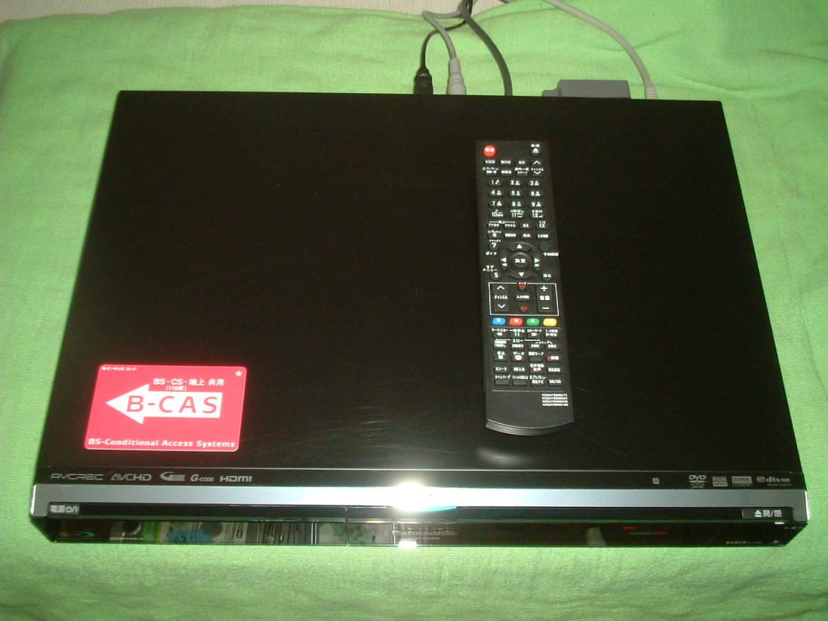 1ヶ月保証 パナソニック DMR-BW800  HDD/DVD/ブルーレイ/レコーダー 2番組同時録画  500GB 新品リモコン  B-CASカード付_画像2