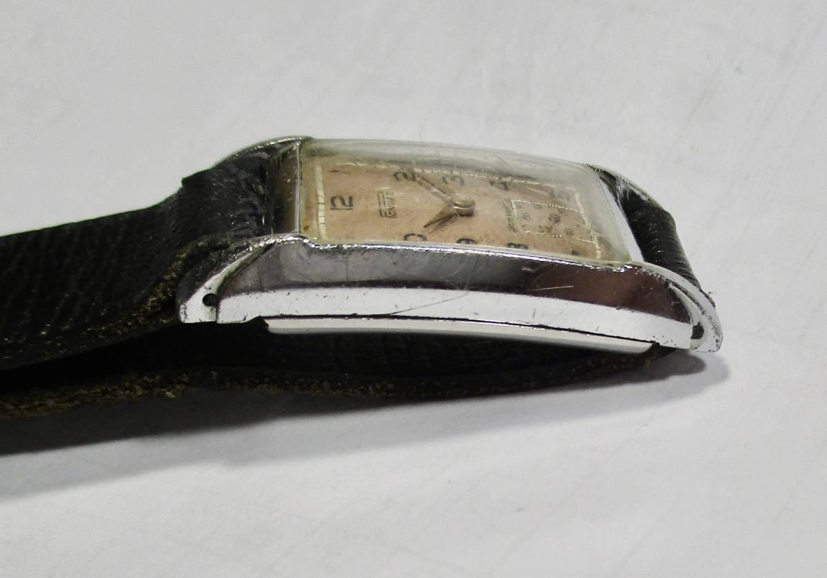 ☆ クロムケース Pontiac 30年代年代 紳士用腕時計_画像7